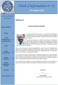 Flash d'information n° 51 de l'Académie de l'Eau - 4ème trimestre 2016 -  disponible